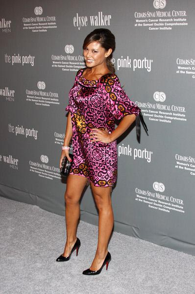 Vanessa Minnillo at The 4th Annual Pink Party - Arrivals at Hanger 8, Santa Monica, CA, USA