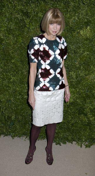Anna Wintour at 5th Anniversary of the CFDA/Vogue Fashion Fund at Skylight Studios, New York City, NY, USA