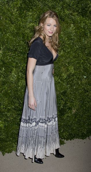 Blake Lively at 5th Anniversary of the CFDA/Vogue Fashion Fund at Skylight Studios, New York City, NY, USA