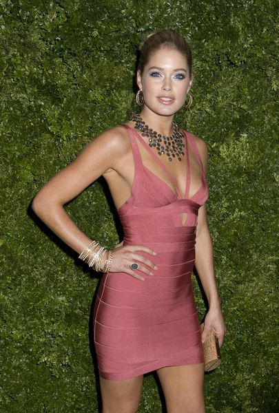 Doutzen Kroes at 5th Anniversary of the CFDA/Vogue Fashion Fund at Skylight Studios, New York City, NY, USA
