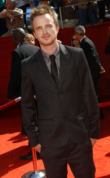 Aaron Paul at 60th Primetime EMMY Awards - Arrivals at Nokia Theater in Los Angeles, CA. USA