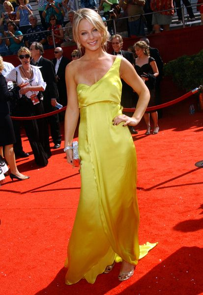 Anastasia Griffith at 60th Primetime EMMY Awards - Arrivals at Nokia Theater in Los Angeles, CA. USA