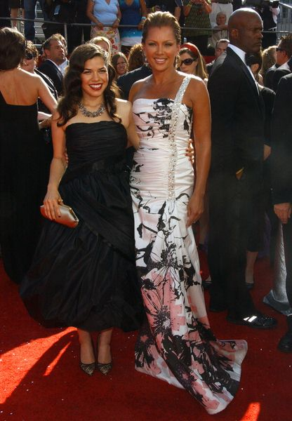 America Ferrera, Vanessa Williams at 60th Primetime EMMY Awards - Arrivals at Nokia Theater in Los Angeles, CA. USA