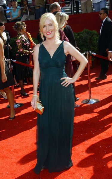 Angela Kinsey at 60th Primetime EMMY Awards - Arrivals at Nokia Theater in Los Angeles, CA. USA
