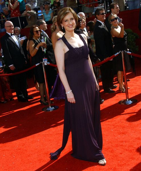Anne Sweeney at 60th Primetime EMMY Awards - Arrivals at Nokia Theater in Los Angeles, CA. USA