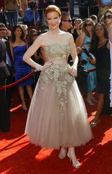 Marcia Cross at 60th Primetime EMMY Awards - Arrivals at Nokia Theater in Los Angeles, CA. USA