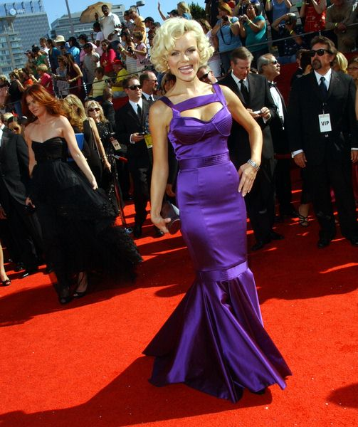 Anya Monzikova at 60th Primetime EMMY Awards - Arrivals at Nokia Theater in Los Angeles, CA. USA
