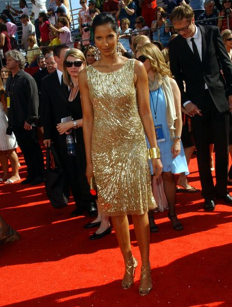 Padma Lakshmi at 60th Primetime EMMY Awards - Arrivals at Nokia Theater in Los Angeles, CA. USA