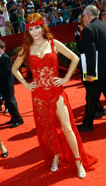 Phoebe Price at 60th Primetime EMMY Awards - Arrivals at Nokia Theater in Los Angeles, CA. USA
