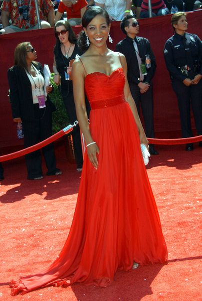 Shaun Robinson at 60th Primetime EMMY Awards - Arrivals at Nokia Theater in Los Angeles, CA. USA