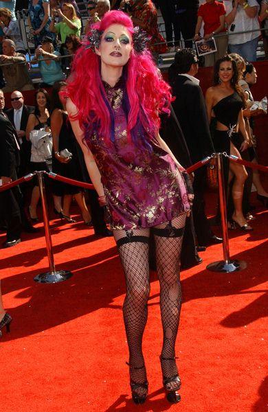 Vixen at 60th Primetime EMMY Awards - Arrivals at Nokia Theater in Los Angeles, CA. USA