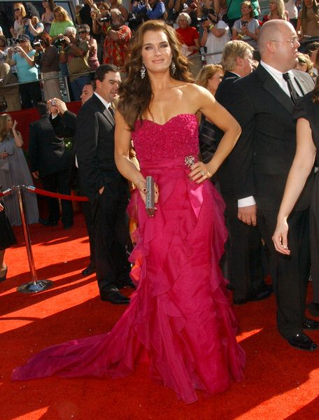 Brooke Shields at 60th Primetime EMMY Awards - Arrivals at Nokia Theater in Los Angeles, CA. USA