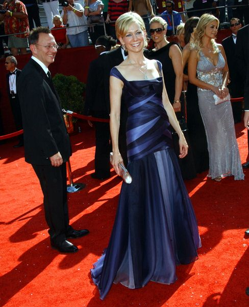 Carrie Preston at 60th Primetime EMMY Awards - Arrivals at Nokia Theater in Los Angeles, CA. USA