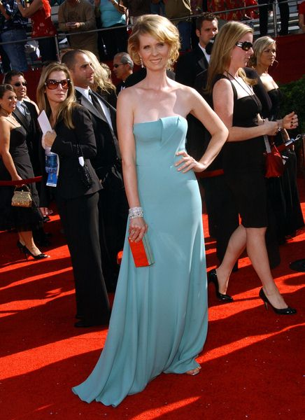 Cynthia Nixon at 60th Primetime EMMY Awards - Arrivals at Nokia Theater in Los Angeles, CA. USA