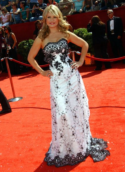 Dayna Devon at 60th Primetime EMMY Awards - Arrivals at Nokia Theater in Los Angeles, CA. USA