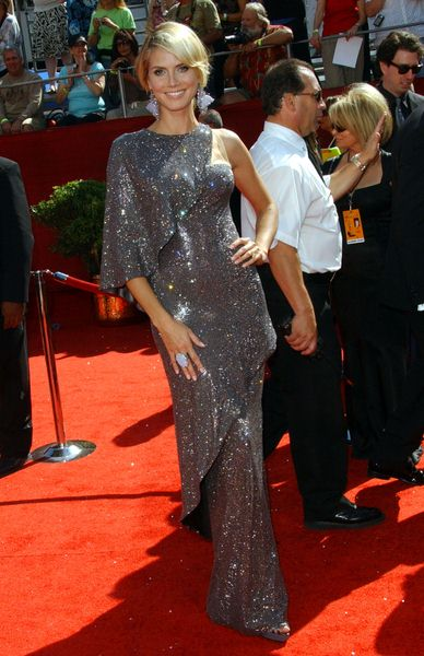 Heidi Klum at 60th Primetime EMMY Awards - Arrivals at Nokia Theater in Los Angeles, CA. USA