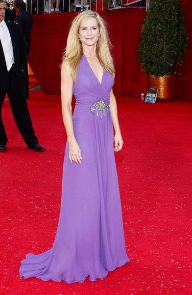 Holly Hunter at 60th Primetime EMMY Awards - Arrivals at Nokia Theater in Los Angeles, CA. USA