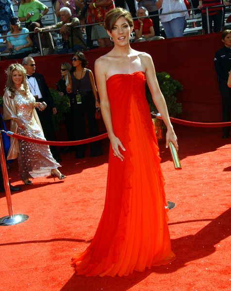 Jennifer Carpenter at 60th Primetime EMMY Awards - Arrivals at Nokia Theater in Los Angeles, CA. USA