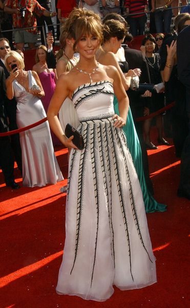Jennifer Love Hewitt at 60th Primetime EMMY Awards - Arrivals at Nokia Theater in Los Angeles, CA. USA