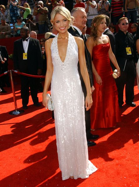 Katrina Bowden at 60th Primetime EMMY Awards - Arrivals at Nokia Theater in Los Angeles, CA. USA
