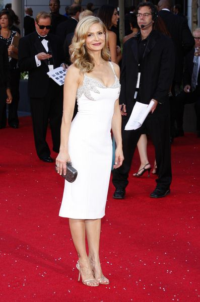 Kyra Sedgwick at 60th Primetime EMMY Awards - Arrivals at Nokia Theater in Los Angeles, CA. USA
