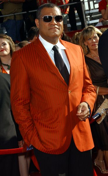 Laurence Fishburne at 60th Primetime EMMY Awards - Arrivals at Nokia Theater in Los Angeles, CA. USA