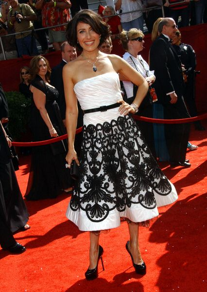 Lisa Edelstein at 60th Primetime EMMY Awards - Arrivals at Nokia Theater in Los Angeles, CA. USA