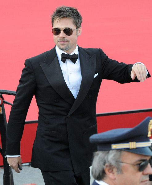 Brad Pitt at 65th Annual Venice Film Festival - 'Burn After Reading' Premiere at Palazzo del Casino, Venice, Italy