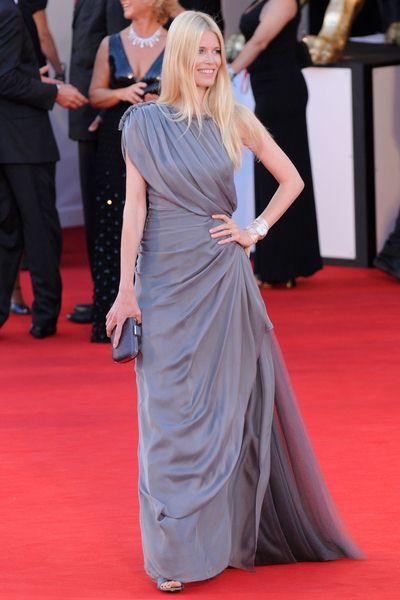 Claudia Schiffer at 65th Annual Venice Film Festival - 'Burn After Reading' Premiere at Palazzo del Casino, Venice, Italy