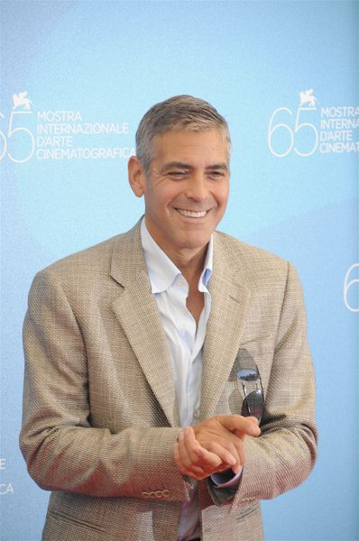 George Clooney at 65th Annual Venice Film Festival - 'Burn After Reading' Premiere at Palazzo del Casino, Venice, Italy