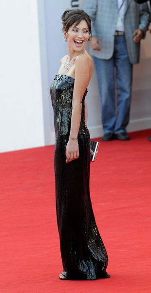 Isabella Orsini at 65th Annual Venice Film Festival - 'Burn After Reading' Premiere at Palazzo del Casino, Venice, Italy