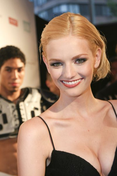 Lydia Hearst at 6th Annual National Underwear Day - Arrivals - Espace, New York City, NY, USA