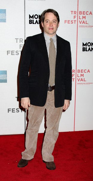 Matthew Broderick at 7th Annual Tribeca Film Festival - 'Finding Amanda' Premiere at Borough of Manhattan Community College, Tribeca Performing Arts Center New York City, NY, USA
