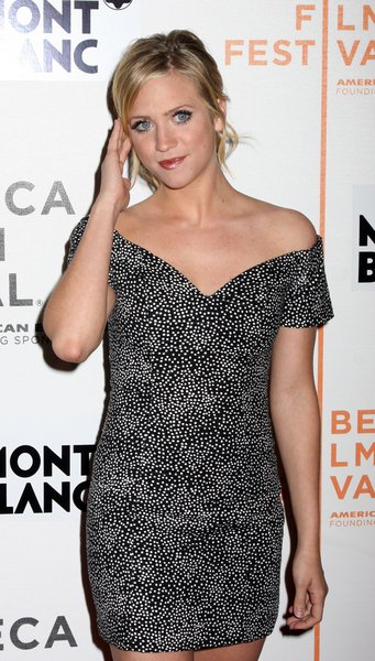 Brittany Snow at 7th Annual Tribeca Film Festival - 'Finding Amanda' Premiere at Borough of Manhattan Community College, Tribeca Performing Arts Center New York City, NY, USA
