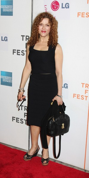 Bernadette Peters at 7th Annual Tribeca Film Festival - 'I Am Because We Are' Premiere - Arrivals - Borough of Manhattan Community College, Tribeca Performing Arts Center, New York City, NY, USA