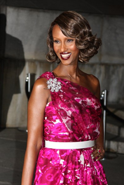 Iman at 7th Annual Tribeca Film Festival - Vanity Fair Party - Arrivals - State Supreme Courthouse, New York City, NY, USA