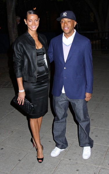 Porchela Coleman, Russell Simmons at 7th Annual Tribeca Film Festival - Vanity Fair Party - Arrivals - State Supreme Courthouse, New York City, NY, USA