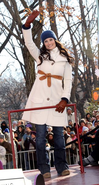 Idina Menzel at 82nd Annual Macy's Thanksgiving Day Parade at Streets of Manhattan, New York City, NY, USA