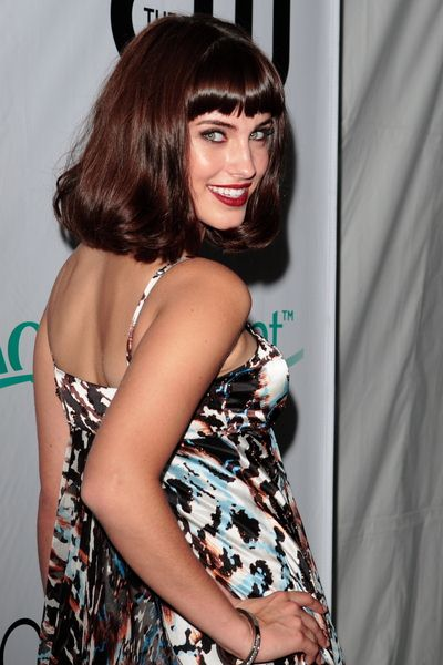 Jessica Lowndes at '90210' Premiere Party - Arrivals at Private Residence in Malibu, CA, USA