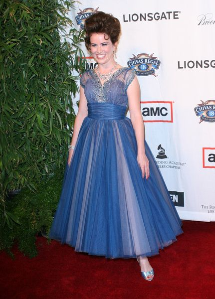 Crista Flanagan at 'A Night on the Town with Mad Men' Live Revue - Arrivals at El Rey Theater, Los Angeles, CA, USA