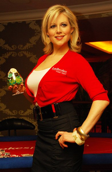 Abi Titmuss at Abi Titmuss Promotes Ladbrokespoker.com European Ladies Championship (ELC) at the Ladbrokes Paddington Casino in London - Ladbrokes Paddington Casino. London, England.