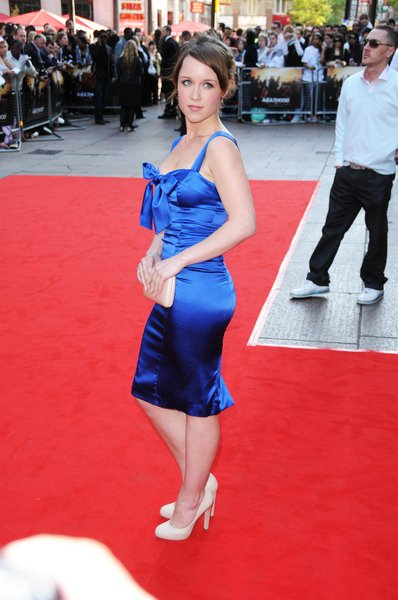 Scarlett Johnson at 'Adulthood' London Premiere at Empire Leicester Square, London, England