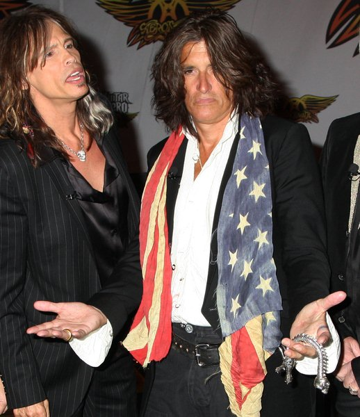 Joe Perry at Aerosmith Launches Their New Video Game 'Guitar Hero: Aerosmith' at Hard Rock Cafe in New York - Hard Rock Cafe, New York City, NY, USA
