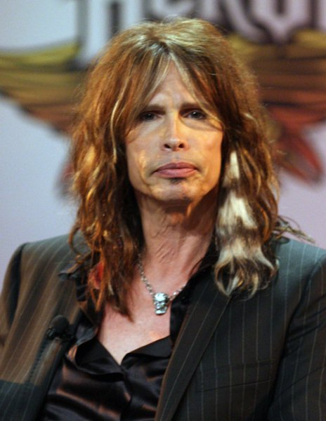 Steven Tyler at Aerosmith Launches Their New Video Game 'Guitar Hero: Aerosmith' at Hard Rock Cafe in New York - Hard Rock Cafe, New York City, NY, USA