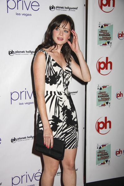 Alexis Bledel at Alexis Bledel Celebrates Her 27th Birthday at Prive Las Vegas at Planet Hollywood Hotel and Casino, Las Vegas, NV, USA