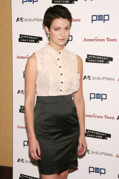 Hannah Bailey at 'American Teen' New York Premiere - Arrivals at Chelsea Cinemas, 260 West 23rd Street, New York City, NY, USA
