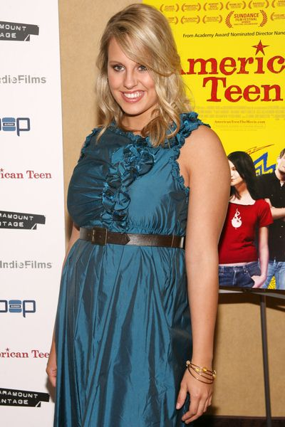 Megan Krizmanich at 'American Teen' New York Premiere - Arrivals at Chelsea Cinemas, 260 West 23rd Street, New York City, NY, USA
