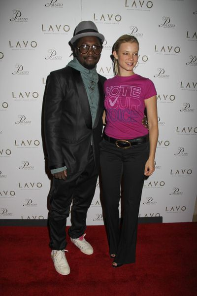 will.i.am, Amy Smart at Amy Smart Hosts 'Get Out the Vote.org' at Lavo Las Vegas at the Palazzo Hotel and Casino, Las Vegas, NV, USA