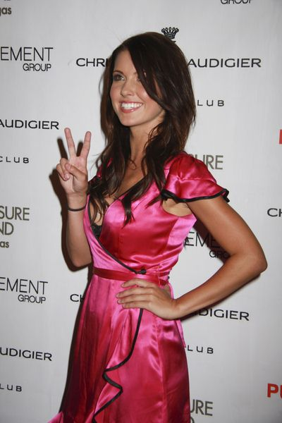 Audrina Patridge, MTV reality show The Hills at Audrina Patridge Hosts an Evening at Christian Audigier The Nightclub at the Treasure Island Hotel and Casino, Las Vegas, NV, USA