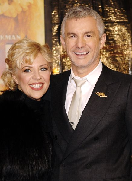 Catherine Martin (wife), Baz Luhrmann at 'Australia' New York City Premiere at Ziegfeld Theatre, New York City, NY, USA